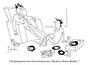 """""""I'm getting more into classical music now. You know, Stones, Beatles..."""""""