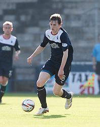 Falkirk's Blair Alston.<br /> Raith Rovers 1 v 1 Falkirk, Scottish Championship 28/9/2013.<br /> ©Michael Schofield.