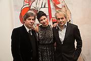 GEORGE CONDO;  NEFER SUVIO, George Condo - private view . Simon Lee Gallery, 12 Berkeley Street, London, 10 February 2014