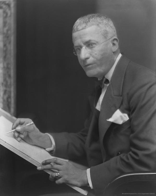 G.L. Stampa, cartoonist, 1922