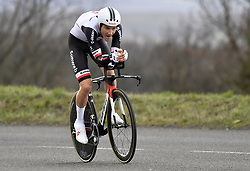 March 7, 2018 - Saint Etienne, France - SAINT-ETIENNE, FRANCE - MARCH 7 : VERVAEKE Louis  (BEL)  of Team Sunweb during stage 4 of the 2018 Paris - Nice cycling race, an individual time trial over 18,4 km from La Fouillouse to Saint-Etienne on March 07, 2018 in Saint-Etienne, France, 07/03/2018 (Credit Image: © Panoramic via ZUMA Press)
