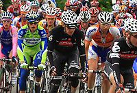 Sykkel<br /> Sveits Rundt / Tour de Suisse<br /> 19.06.2010<br /> Foto: imago/Digitalsport<br /> NORWAY ONLY<br /> <br /> Radsport Tour de Suisse 2010 8. Etappe Wetzikon - Liestal Peloton mit Thor Hushovd (NOR) Team Cervelo Test Team