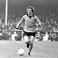 Barry Powell - Wolverhampton Wanderers. Leeds United v Wolverhampton Wanderers 24/3/73. Credit: Colorsport.