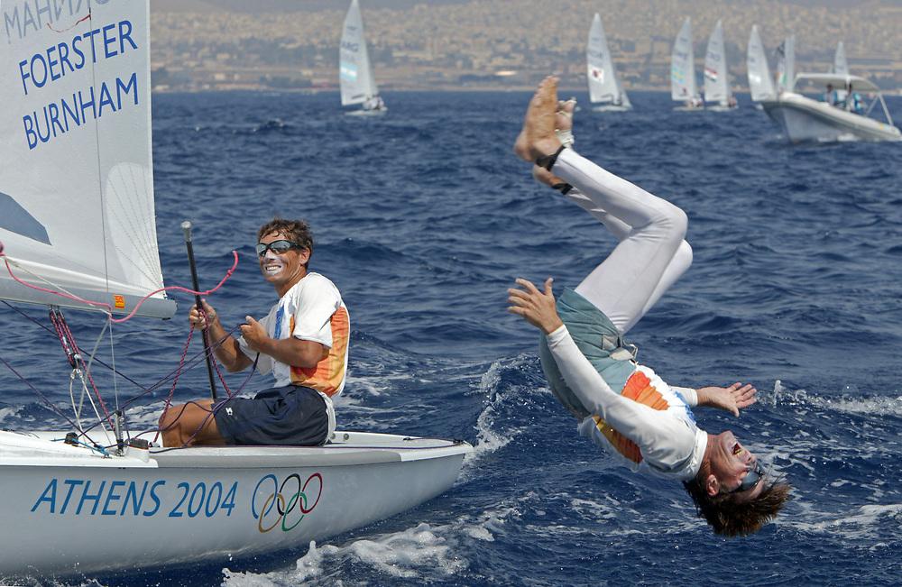 470 Men USA Foerster Paul - Burnham Kevin GOLD<br /> Athens 2004 Olympic Games<br /> August 21<br /> © Daniel Forster