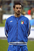Palermo 18/2/2004 Amichevole - Friendly Match <br />Italy Czech Republic - Italia Repubblica Ceca 2-2 <br />Stefano Fiore (Italy)<br />Photo Andrea Staccioli Graffiti