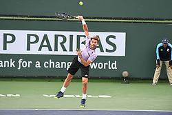 March 10, 2019 - Palm Desert, California, Usa - Tennis : BNP Paribas Open 2019 - Stan Wawrinka - Suisse (Credit Image: © Panoramic via ZUMA Press)