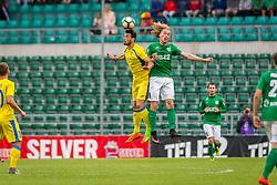 Amedej Vetrih of NK Domzale during 2nd leg match of 1st Round Qualifications for European League between FC Flora and NK Domzale, on July 7, 2017 on Le Coq Arena, Tallinn, Estonia. Photo by Ziga Zupan / Sportida