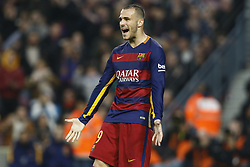 Sept. 15, 2015 - Barcelona, Catalonia, Spain - Sandro Ramirez of Barcelona during the Spanish League football match between Barcelona and Deportivo at Camp Nou Stadium in Barcelona, December 12, 2015. (Credit Image: © Dpi/NurPhoto via ZUMA Press)