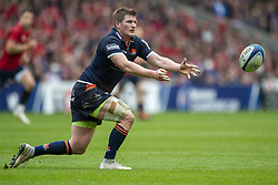 March 30, 2019 - Edinburgh, Scotland, United Kingdom - James Jonstone of Edinburgh in action during the Heineken Champions Cup Quarter Final match between Edinburgh Rugby and Munster Rugby at Murrayfield Stadium in Edinburgh, Scotland, United Kingdom on March 30, 2019  (Credit Image: © Andrew Surma/NurPhoto via ZUMA Press)