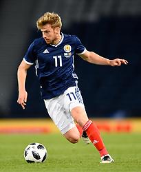 Scotland's Stuart Armstrong during the International Friendly at Hampden Park, Glasgow