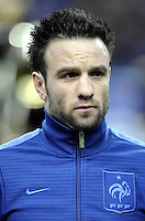 Football Fifa Brazil 2014 World Cup - Friendly Matchs 2013 -<br /> France vs Germany 1-2  ( Stade de France Stadium-Saint-Denis , France )<br /> Mathieu Valbuena of France , during the Friendly Match between France and Germany