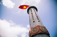 Lung Cu flag tower, Dong Van District, Ha Giang Province, Vietnam, Southeast Asia