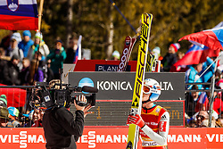 Anders Fannemel (NOR) during the Ski Flying Hill Team Competition at Day 3 of FIS Ski Jumping World Cup Final 2016, on March 19, 2016 in Planica, Slovenia. Photo by Grega Valancic / Sportida