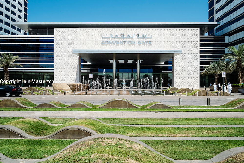The Dubai International Convention and Exhibition Centre (DICEC) in United Arab Emirates