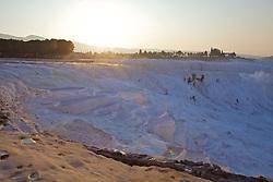 Dawn At Pamukkale