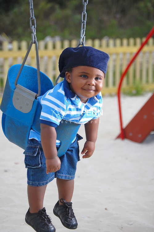 Outdoor and Child Photography in the Bahamas. Day at the Park