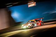 Jörg Bergmeister, Patrick Long and Patrick Pilet, Flying Lizard Motorsports (GT) Porsche 911 GT3 RSR, Petit Le Mans. Oct 18-20, 2012. © Jamey Price