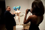 JOHNNY PIGOZZI; SHALA MONROQUE, Pop Life in a Material World. Tate Modern. London. 29 September 2009.