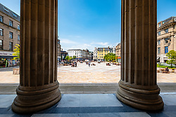 View of the City Square from Caird Hall, Dundee, Scotland, UK