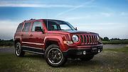 USA, Oregon, Willamette Mission State Park, Jeep Patriot. PR