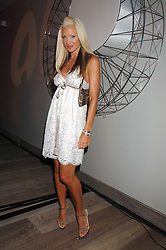 Model CAPRICE BOURRET at a party to celebrate the launch of a new fashion label 'Oli' at the Haymarket Hotel, 1 Suffolk Place, London on 4th July 2007.<br /><br />NON EXCLUSIVE - WORLD RIGHTS