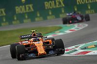 Lando Norris McLaren Renault<br /> Monza 31-08-2018 GP Italia <br /> Formula 1 Championship 2018 <br /> Foto Federico Basile / Insidefoto