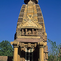 Asia, India, Khajuraho. The Devi Jagadambi temple, circa 950.