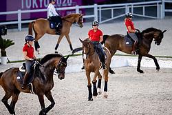 Team Denmark<br /> Olympic Games Tokyo 2021<br /> © Hippo Foto - Dirk Caremans<br /> 21/07/2021