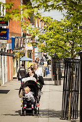 Station Road, Harrow, north west London UK