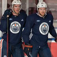 2019 NHL Edmonton Oilers Kelowna Practice
