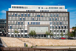 The Federal Press Conference Building (Bundespressekonferenz) in Mitte Berlin, Germany