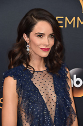 Abigail Spencer attends the 68th Annual Primetime Emmy Awards at Microsoft Theater on September 18, 2016 in Los Angeles, CA, USA. Photo by Lionel Hahn/ABACAPRESS.COM