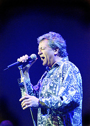 Ian Gillan vocalist with the legendry Rock Band Deep Purple, Rocking the Sheffield City Hall audience on Feb 12 2002. The two hour set,  part of the bands 2002 - 2003 world tour featured many of the old classics, When a Blindman Cries, Hush,Smoke On The Water, Black Night, Woman from Tokyo, Highway Star, Lazy alnong with some of the newer numbers and one Brand new and as yet unrecorded song.