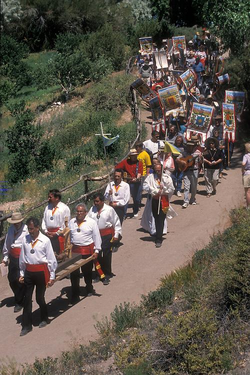 EEUU. Nuevo México. Santa Fe<br /> Procesión de San Isidro en el Festival de Primavera en el Rancho de las Golondrinas<br /> <br /> USA. New Mexico. Santa Fe<br /> Procession in honour to San Isidro during the Spring Festival at Las Golondrinas Ranch<br /> <br /> © JOAN COSTA