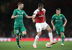 Arsenal v Vorskla, 20 Sept 2018