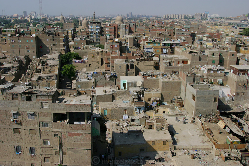 The old part of Islamic Cairo, Egypt, as seen from the minaret of a mosque. (Supporting image from the project Hungry Planet: What the World Eats.)