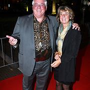 NLD/Utrecht/20070928 - Premiere film Goud over Nederlands dames hockeyelftal, KNHB-bestuurder Louis Coster en partner