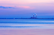National Gypsum wallboard manufacturing plant, Apollo Beach, Florida, USA.