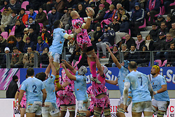 January 5, 2019 - Paris, France - Stade Francais Flanker SERGIO PARISSE in action during the French rugby championship Top 14 match between Stade Francais and  Perpignan  at Jean Bouin Stadium in Paris - France..Stade Franais won 27-8 (Credit Image: © Pierre Stevenin/ZUMA Wire)