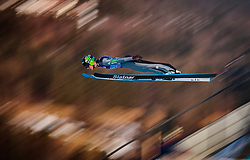 31.12.2017, Olympiaschanze, Garmisch Partenkirchen, GER, FIS Weltcup Ski Sprung, Vierschanzentournee, Garmisch Partenkirchen, Qualifikation, im Bild Domen Prevc (SLO) // Domen Prevc of Slovenia during his Qualification Jump for the Four Hills Tournament of FIS Ski Jumping World Cup at the Olympiaschanze in Garmisch Partenkirchen, Germany on 2017/12/31. EXPA Pictures © 2018, PhotoCredit: EXPA/ JFK