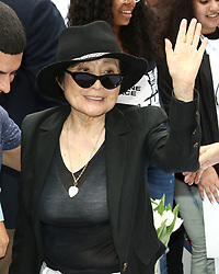 Yoko Ono attends the Fifth Annual Come Together: NYC bed-in Celebration at City Hall in New York City.