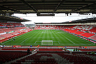 a General view inside the Bet365 Stadium before the game. Premier league match, Stoke City v Tottenham Hotspur at the Bet365 Stadium in Stoke on Trent, Staffs on Saturday 10th September 2016.<br /> pic by Chris Stading, Andrew Orchard sports photography.