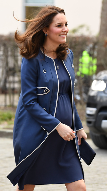 The Duchess of Cambridge visits the Royal College of Obstetricians and Gynaecologists in London, UK, on the 27th February 2018. 27 Feb 2018 Pictured: The Duchess of Cambridge visits the Royal College of Obstetricians and Gynaecologists in London, UK, on the 27th February 2018. Photo credit: James Whatling / MEGA TheMegaAgency.com +1 888 505 6342