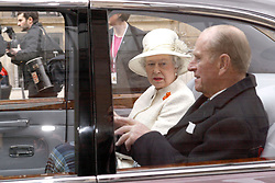 Buckingham Palace has announced Prince Philip, The Duke of Edinburgh, has passed away age 99 - FILE - Britain's Queen Elizabeth II talks to her husband Prince Philip as they drive away from the Gare du Nord station in Paris Monday, April 5, 2004. Queen Elizabeth starts her three-day state visit to France to mark 100 years of Entente Cordiale, the formal friendship between France and Britain... Photo by Mousse-Hounsfield/ABACA.