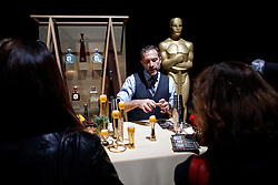 Andy Seymour of Liquid Productions during the Academy's Governors Ball preview for the 91st Oscars® on Friday, February 15, at the Ray Dolby Ballroom in Hollywood.