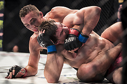 September 16, 2017 - Pittsburgh, Pennsylvania, USA - September 16, 2017: Olivier Aubin-Mercier defeats Tony Martin by split decision during UFC Fight Night at PPG Paints Arena in Pittsburgh, Pennsylvania. (Credit Image: © Scott Taetsch via ZUMA Wire)