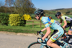 Tetyana Riabchenko (INPA Bianchi) - Flèche Wallonne Femmes - a 137km road race from starting and finishing in Huy on April 20, 2016 in Liege, Belgium.