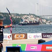 Brady ELLISON (USA) competes in Archery World Cup Final in Istanbul, Turkey, Sunday, September 25, 2011. (AP Photo/TURKPIX)