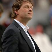 NLD/Amsterdam/20060420 - Ajax - Feyenoord, eredivisie playoffs, coach Erwin Koeman