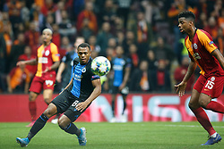 November 26, 2019, Galatasaray, Turkey: Club's Lois Openda and Galatasaray's Ryan Donk fight for the ball during a game between Turkish club Galatasaray and Belgian soccer team Club Brugge, Tuesday 26 November 2019 in Istanbul, Turkey, fifth match in Group A of the UEFA Champions League. (Credit Image: © Bruno Fahy/Belga via ZUMA Press)